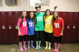 Junior Girls on Twin Day