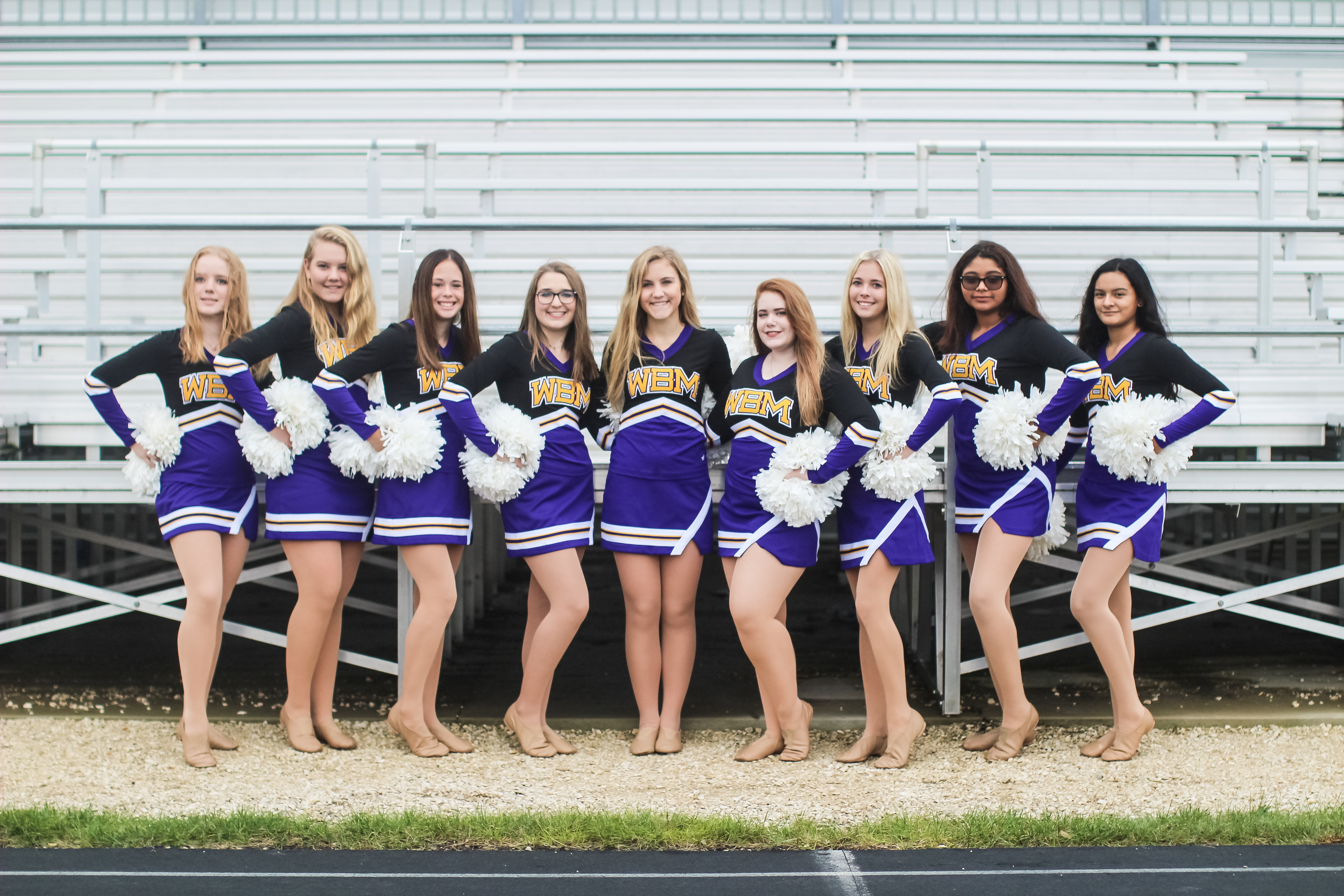 WBM Dance Team 2019 - 2020 Photo Courtesy of Lauren Fehr Photography