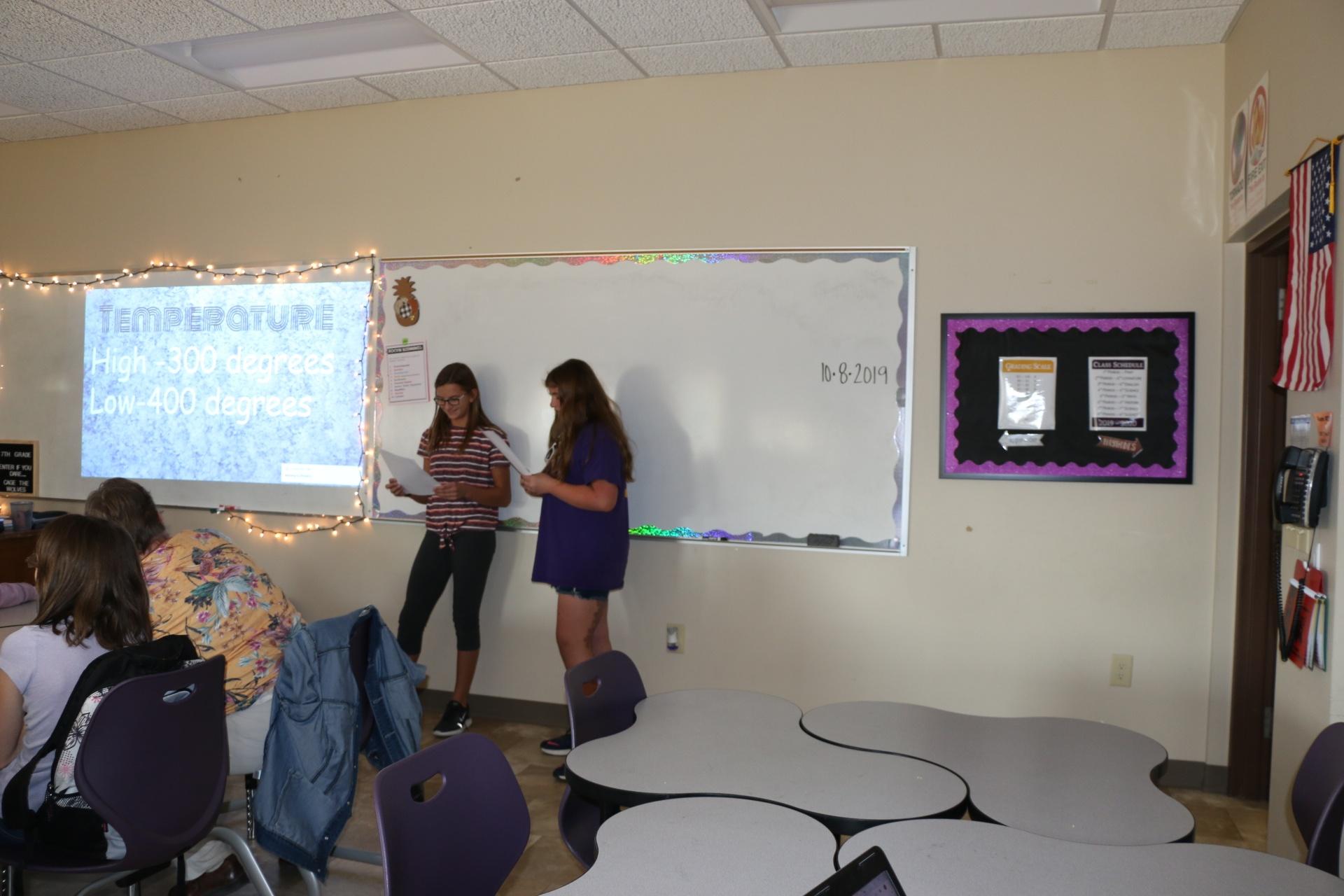Presentations in Science