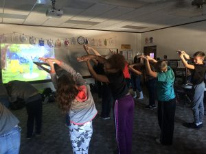 Yoga with 7th Grade