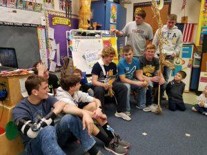 High School FFA Boys with Preschool