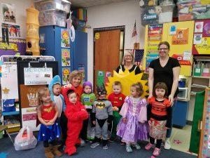Halloween with Preschool