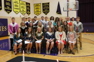 2019-2020 National Honor Society Inductees