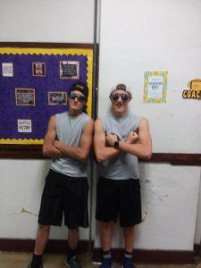 Logan Grimm and Mitch Stevens