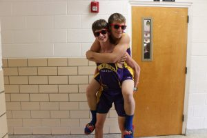 Nolan Ford and Damon Fehr on Twin Day