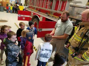 Preschool Field Trip to Fire Station
